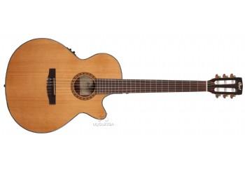 Cort CEC5 Naturel - Elektro Klasik Gitar