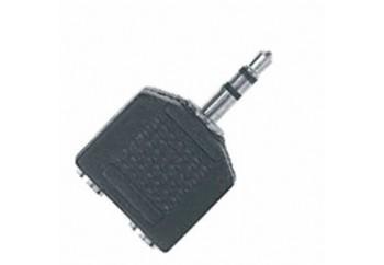 Proel AT140 - 2x3.5 mm. Stereo (Dişi) - 3.5 mm. Stereo (Erkek)