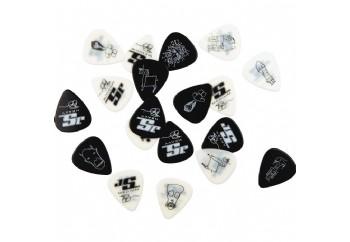 Planet Waves Joe Satriani Signature Guitar Picks Siyah - Medium - 10 Adet - Pena
