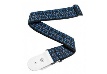 Planet Waves Textile Collection Straps 50G05 - Hootenanny Blue/Black - Gitar Askısı