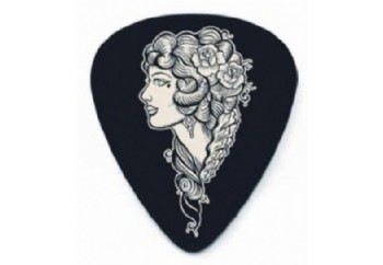Jim Dunlop Lucky 13 Picks 0,73mm Voodoo Queen - 1 Adet - Pena