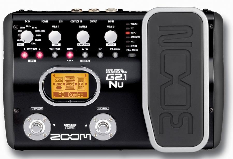 zoom g2 1nu guitar multi effects pedal gitar proses r mydukkan. Black Bedroom Furniture Sets. Home Design Ideas