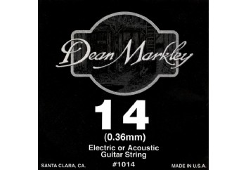 Dean Markley Nickel Plain Single 014 Tek Tel - Akustik ve Elektro Gitar Tek Tel