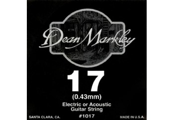 Dean Markley Nickel Plain Single 017 Tek Tel - Akustik ve Elektro Gitar Tek Tel