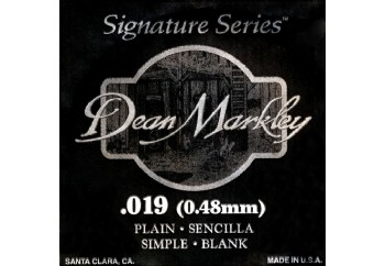 Dean Markley Nickel Plain Single 019 Tek Tel - Akustik ve Elektro Gitar Tek Tel