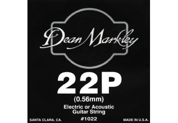 Dean Markley Nickel Plain Single 022 Tek Tel - Akustik ve Elektro Gitar Tek Tel