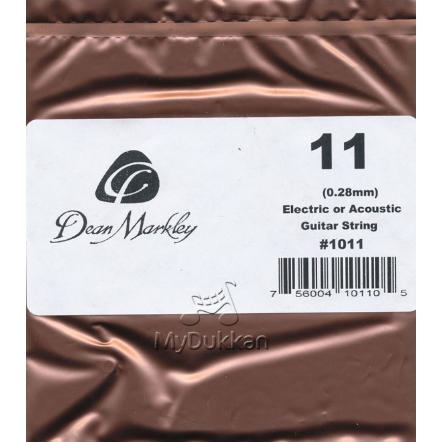 Dean Markley Nickel Plain Single