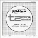 D'Addario T2 Titanium Normal Single String