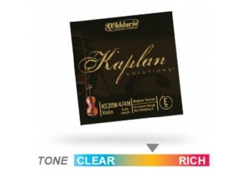 Daddario Kaplan Solutions Violin E String KS311W - E (Mi) Tek Tel - Keman Teli E (Mi)
