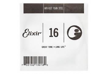 Elixir Plain Single 016 Tek Tel - Tek Teller
