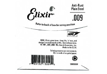 Elixir Plain Single 009 Tek Tel - Tek Teller