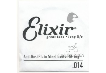 Elixir Plain Single 014 Tek Tel