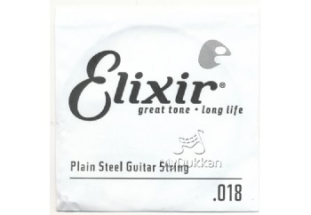 Elixir Plain Single 018 Tek Tel