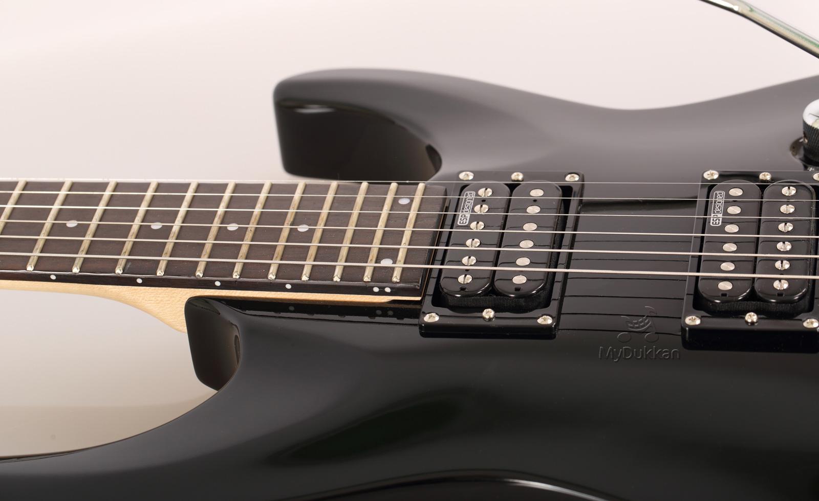 ltd mh 50 blk siyah elektro gitar mydukkan. Black Bedroom Furniture Sets. Home Design Ideas