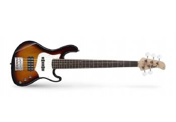 Cort GB35A 3TS Sunburst - Bas gitar 5 Telli