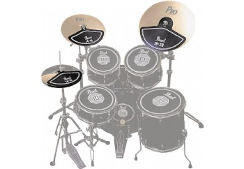 Pearl RP40C Rubber Cymbal Pad Set - Zil Susturucu Set
