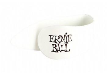 Ernie Ball 9213 Large Thumb Picks Beyaz - 1 Adet - Başparmak Penası