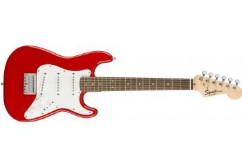 Squier Affinity Mini Torino Red - Indian Laurel - 3/4 Elektro Gitar