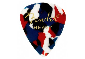Fender 351 Shape Classic Picks Confetti - Heavy - 1 Adet