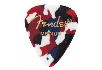 Fender 351 Shape Classic Picks Confetti - Medium - 1 Adet