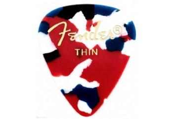 Fender 351 Shape Classic Picks Confetti - Thin - 1 Adet - Pena