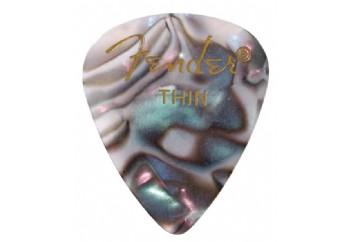 Fender 351 Premium Celluloid Picks Abalone - Thin - 1 Adet - Pena