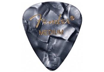 Fender 351 Premium Celluloid Picks Black Moto - Medium - 1 Adet - Pena