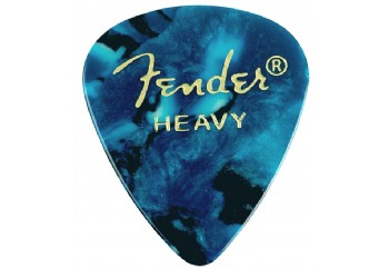 Fender 351 Premium Celluloid Picks Ocean Turquoise - Heavy - 1 Adet