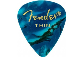 Fender 351 Premium Celluloid Picks Ocean Turquoise - Thin - 1 Adet - Pena