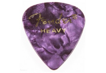 Fender 351 Premium Celluloid Picks Purple Moto Heavy - 1 Adet - Pena