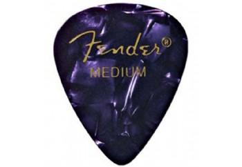 Fender 351 Premium Celluloid Picks Purple Moto - Medium - 1 Adet