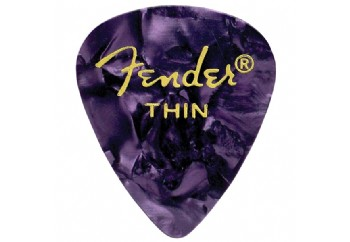 Fender 351 Premium Celluloid Picks Purple Moto - Thin - 1 Adet - Pena