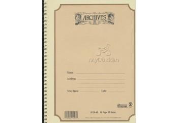 D'Addario B12S48 Nota Defteri  Standart  - Nota Defteri