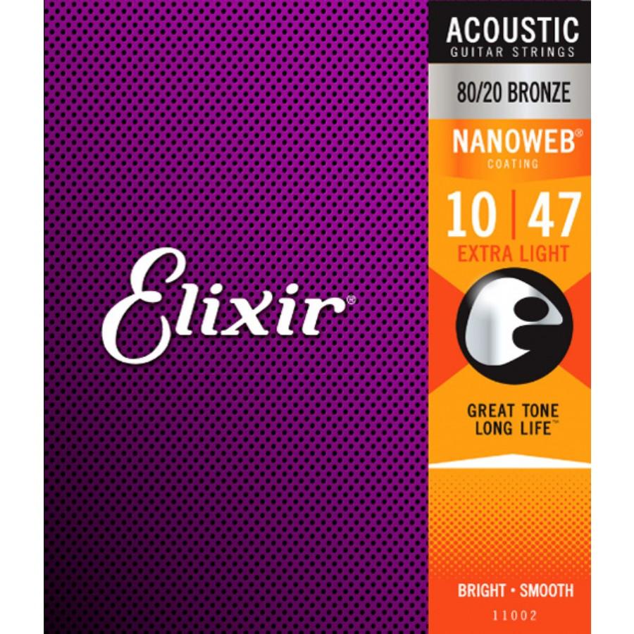 Elixir 11002 Nanoweb Extra Light