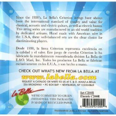 La Bella C200R Regular