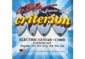 La Bella C200R Regular Takım Tel - Elektro Gitar Teli  010-046