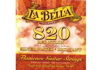 La Bella 820 Flamenco Strings Set Takım Tel - Flamenko Gitar Teli