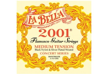 La Bella 2001 Flamenco Strings Set Takım Tel - Flamenko Gitar Teli