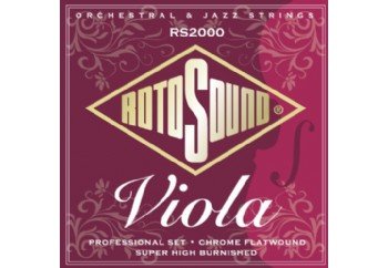 Rotosound RS2000 Flatwound Professional Viola Strings Takım Tel