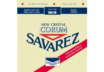Savarez New Cristal Corum Normal Tension 500CR Takım Tel - Klasik gitar teli