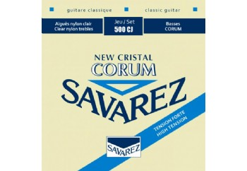 Savarez New Cristal Corum High Tension 500CJ Takım Tel - Klasik Gitar Teli