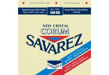 Savarez New Cristal Corum Mixed Tension 500CRJ Takım Tel - Klasik Gitar Teli