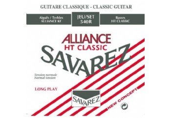 Savarez Alliance HT Classic Normal Tension 540R Takım Tel - Klasik gitar teli