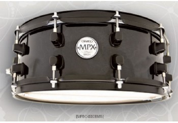 Mapex MPBC4550 MPX Series Birch Transparent Black
