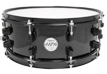 Mapex MPML4550 MPX Maple Snare Drum BMB - Midnight Black - Trampet 14x5.5