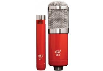 MXL 550/551R Microphone Ensemble Pack - Condenser Mikrofon Kiti