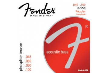 Fender 8060 Acoustic Bass Strings  Takım Tel - Akustik Bas Gitar Teli 045-100