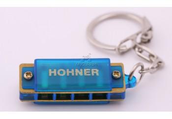 Hohner M91301 Harmonica Mavi - Anahtarlık Mızıka