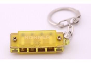 Hohner M91301 Harmonica Sarı - Anahtarlık Mızıka