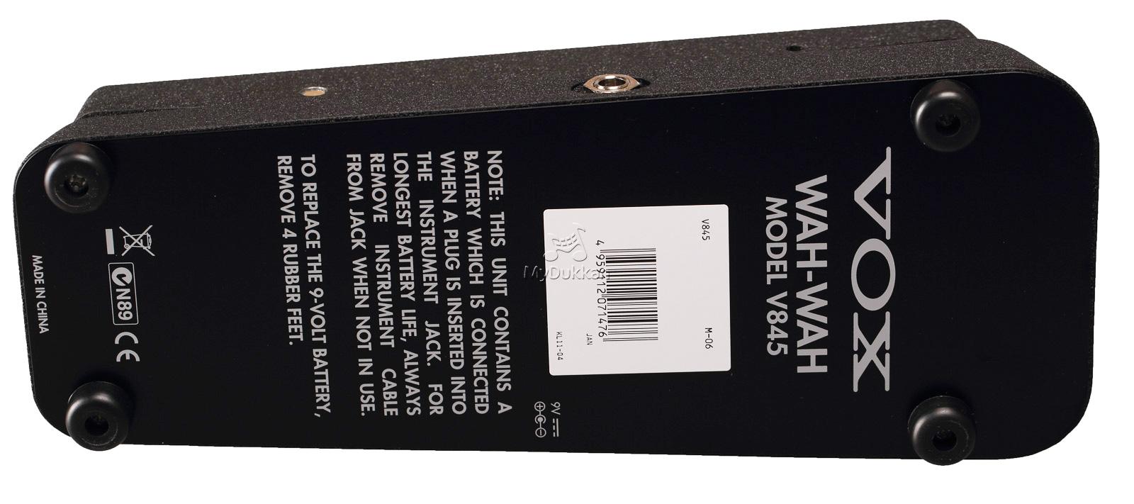 Vox V845 Vs V847 Electrosmash Wah Classic Pedal Mydukkan 1600x711